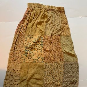 Sacred Threads Bohemian Patch Maxi Skirt